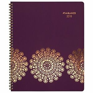 At a glance Weekly Monthly Appointment Book Planner January 2018 January