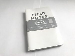 Field Notes Northerly Edition winter 2011 Sealed Notebook 3 pack