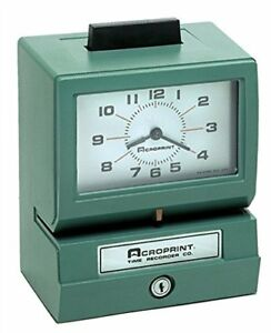 125rr4 Heavy Duty Manual Time Recorder For Month Date Hour 0 23 And 33297120