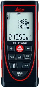 Leica Disto E7400x 265ft Laser Distance Meter Red black 689851433719 new