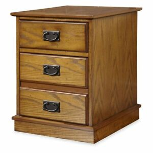 Home Styles Modern Craftsman Mobile File Distressed Oak