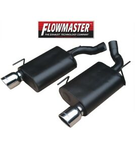 Flowmaster 2005 2010 Ford Mustang Gt 4 6l Gt500 5 4l V8 Force Ii Exhaust System