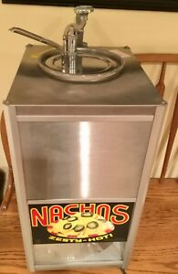 Gold Medal Co Nacho Cheese Chip Warmer Machine Combo W Pump Spout Extras