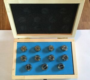 Er 20 Collet Set 11pc Metric Er 20