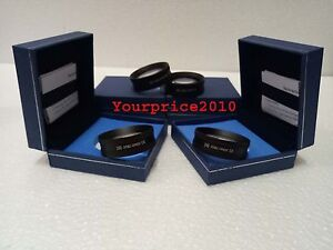 New Double Aspheric 20 D Lens Set Of Four And Case Medical Ophthalmology Science
