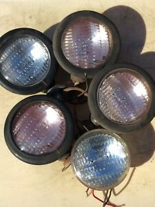 Vintage Headlamp Head Lights For Tractor extra Bulb