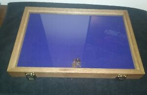 12 X 18 X 2 Wood Display Case made In Usa