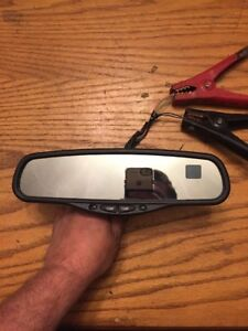 Gentex 177 Auto Dim Mirror With Compass And Temp Two Line Dual Display Oem