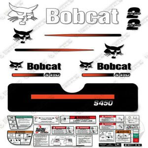 Bobcat S450 Compact Track Loader Decal Kit Skid Steer S 450 S 450