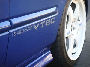 99 00 Civic Si Dohc Vtec Decal Jdm Em1 Oem Ex Dx B16a2 Ek9 Sir 96 Sohc Sticker