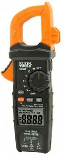 Klein Tools 600 Amp Ac Current True Rms Auto ranging Digital Clamp Meter Tester