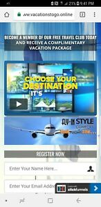 Travel Affiliate Website For Sale