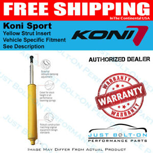 Koni Sport Yellow Strut Fits 06 13 Civic Coupe Sedan Si Dx Front