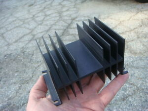 Lot 33 Misc Black Aluminum Anodized Heatsinks Unused