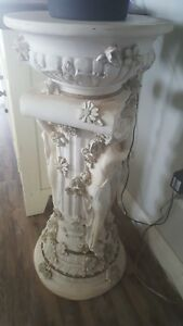 Pillars Plant Stand Display Vases Statues Art Show 32 Tall Set Of 2