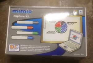 New Mimio 580 0014 Graphic Pen And Eraser Capture Kit Virtual Ink System
