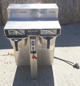 Fetco Cbs 52h Twin Dual 1 5 gallon Thermal Coffee Brewer Commercial