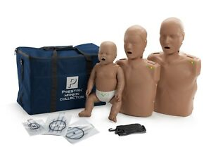 Prestan Cpr aed Manikin Collection with Monitor Dark Skin