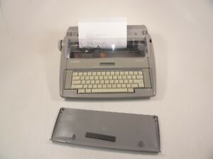 Brother Sx 4000 Lcd Display Electronic Typewriter W test Page