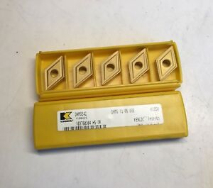 Kennametal Carbide Inserts Dnmg542 Dnmg 19 06 08b Kc850 Qty 5 New