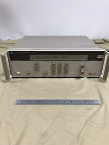 Hp 5350b Microwave Frequency Counter see Details