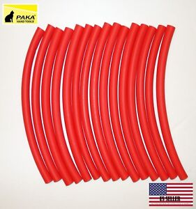 50 Feet 3 8 9 5 Mm Dual Wall Red Heat Shrink Tubing 3 1 Glue Lined Tubes