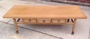 Vintage Mid Century Modern American Of Martinsville Coffee Sofa Table