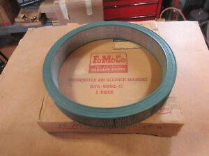 Nos 1957 57 Ford Fairlane 500 Dual Quad 2x4 Correct Ford Air Cleaner Element
