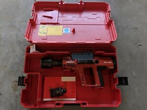 Hilti Dx750 Powder Actuated Nail Fastening Gun W Fastener Guide