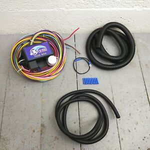 Wire Harness Fuse Block Upgrade Kit For 1970 1972 Amc Gremlin Street Rod