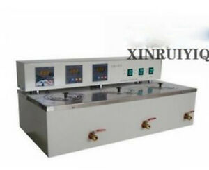 Three Hole Electric Constant Temperature Sink Dk 8d Water Bath 750w 220v