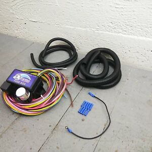 1970 1974 Dodge Challenger Ultra Pro Wire Harness System 12 Fuse Coded Hot Rod