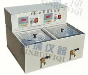 Two Hole Electric Constant Temperature Sink Hh 2d Water Bath 600w 220v