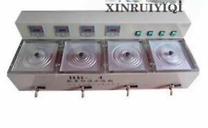 Four Hole Electric Constant Temperature Sink Water Bath 1200w 220v