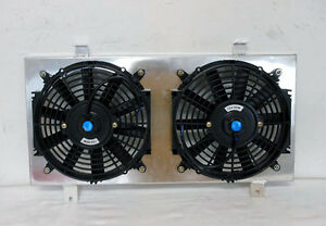 Radiator Fan Shroud Fit For 1991 1999 Nissan Sentra Nx 200sx New W 2xfans