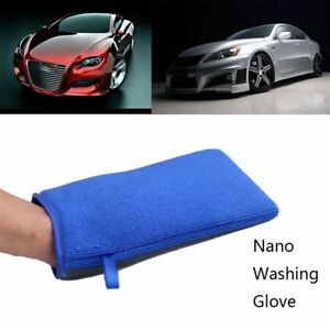 Magic Car Wash Clay Bar Mitt Clay Cloth Auto Care Cleaning Towel Microfiber