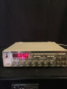Tenma 72 5015 120 Vac 50 60 Hz 20w 2 Mhz Sweep function Generator Counter