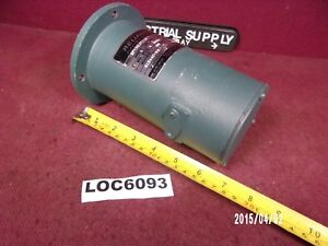 Reliance Tacometer Generator Model 5py59jy110 1800 Rpm Loc6093