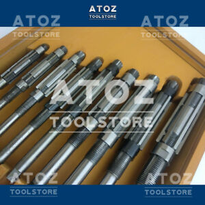 9 Pieces Expandable Adjustable Hand Reamer Set H4 To H12 Capacity 11 9 30 10mm