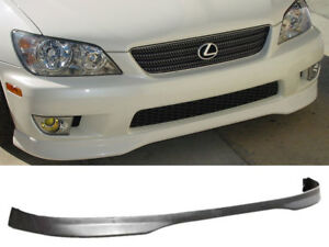 Fits 01 05 Lexus Is300 Jdm Tr Urethane Front Bumper Lip Spoiler Body Kit