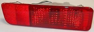 Genuine Mitsubishi 2001 2002 Montero Left Rear Bumper Tail Light Lamp Reflector