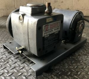 Precision Scientific Vacuum Pump 25 115v Single Phase Laboratory