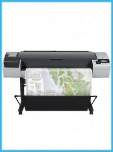 Hp T795 44 Printer Plotter Blueprint With Supplies 2 Year Warranty T1200 T1100