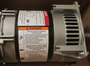 Belt Driven Generator Head 5500 Surge Watts 5000 Rated Watts 11 Hp Required