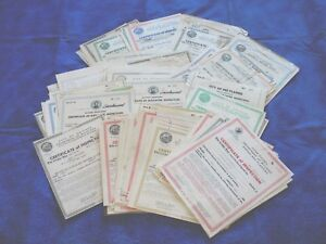 Vintage Chicago Building Elevator Inspection Certificate Collection