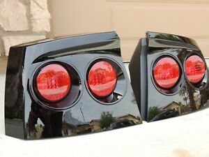 06 10 Charger Smoked Tail Lights Black Oem Custom Tinted Non Led Painted