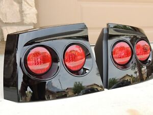 06 10 Charger Smoked Tail Lights Black Oe Custom Tinted Non Led Painted