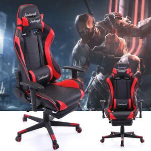 Ergonomic High Back Office Desk Chair Swivel Pc Gaming Chair W lumbar Support