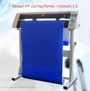 24 Cutting Plotter Sign Cutter Usb Vinyl Cutter W Stand Coreldraw Output