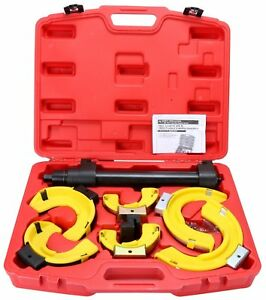 Macpherson Interchangable Fork Strut Coil Spring Compressor Extractor Tools Kit